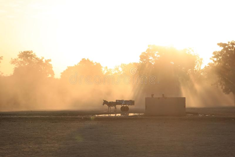 Waking Up; Fetchin Water Free Public Domain Cc0 Image