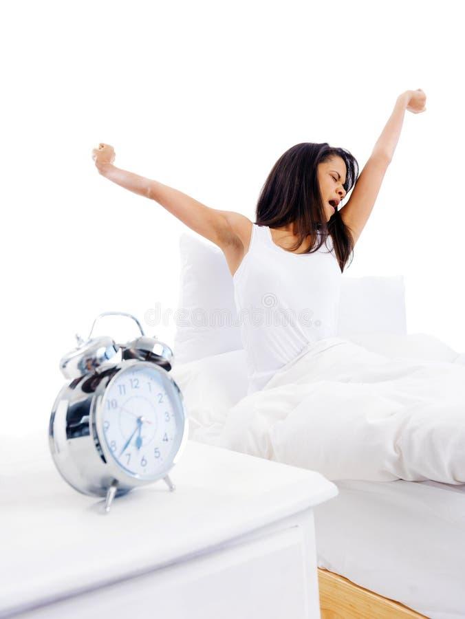 Waking Up Woman Royalty Free Stock Image