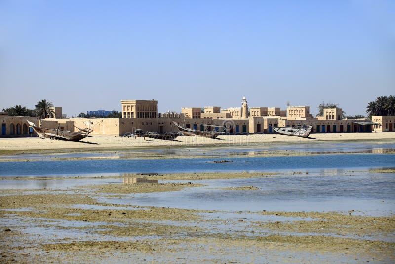 Wakra-Seefrontentwicklung stockbild