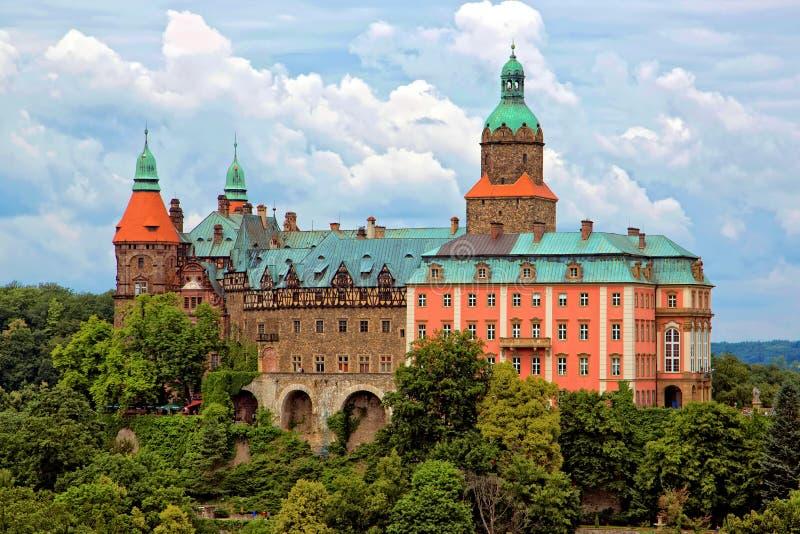 walbrzych Польши ksiaz замока стоковые фотографии rf