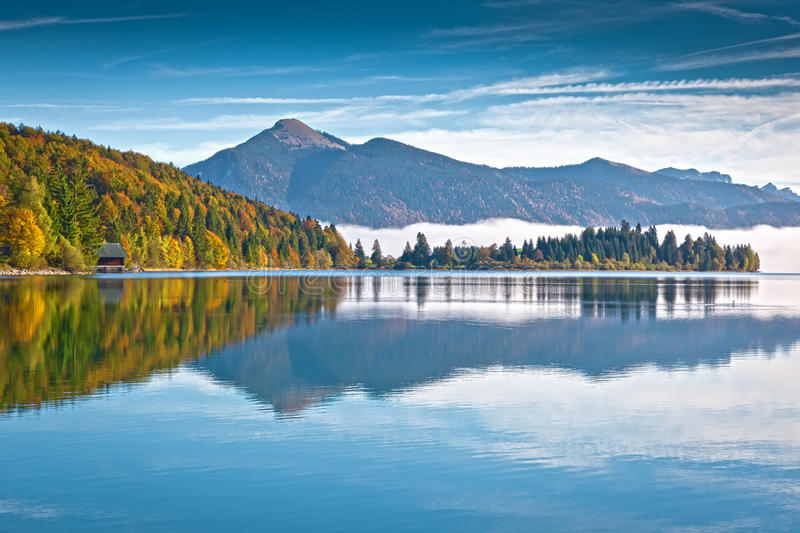 Walchensee images stock