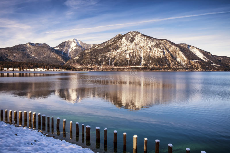 Walchensee image libre de droits