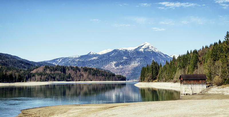 Download Walchensee stock photo. Image of forest, horizon, panoramic - 34430722