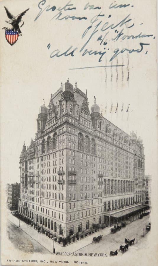 Waldorf Astoria hotel zdjęcia stock