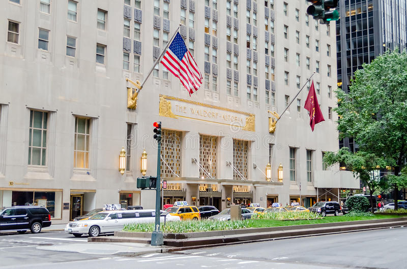 The Waldorf-Astoria Hotel in NYC
