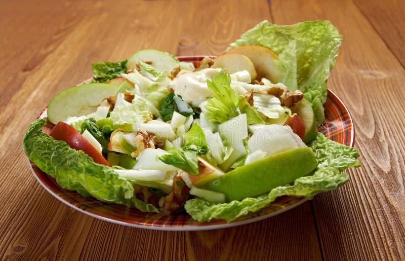 Waldorf salad stock photography