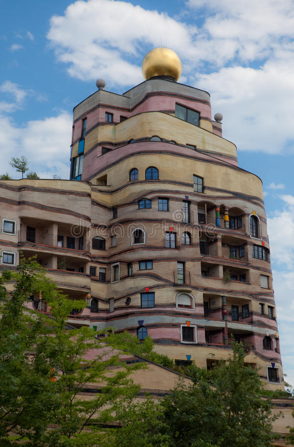 Free Waldspirale Apartment Building Royalty Free Stock Photo - 13513515