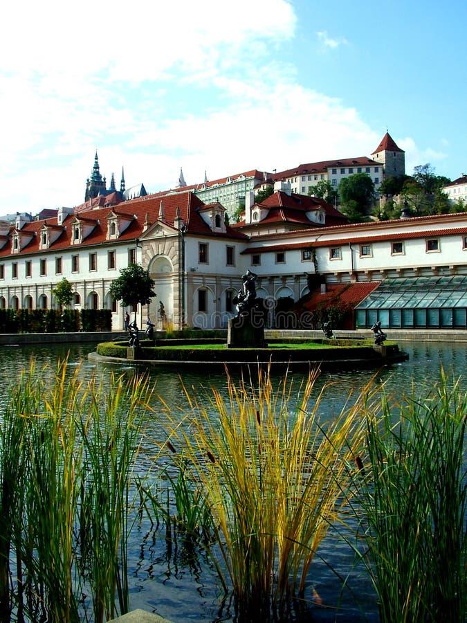 Waldstein2 Pałacu. Obraz Stock