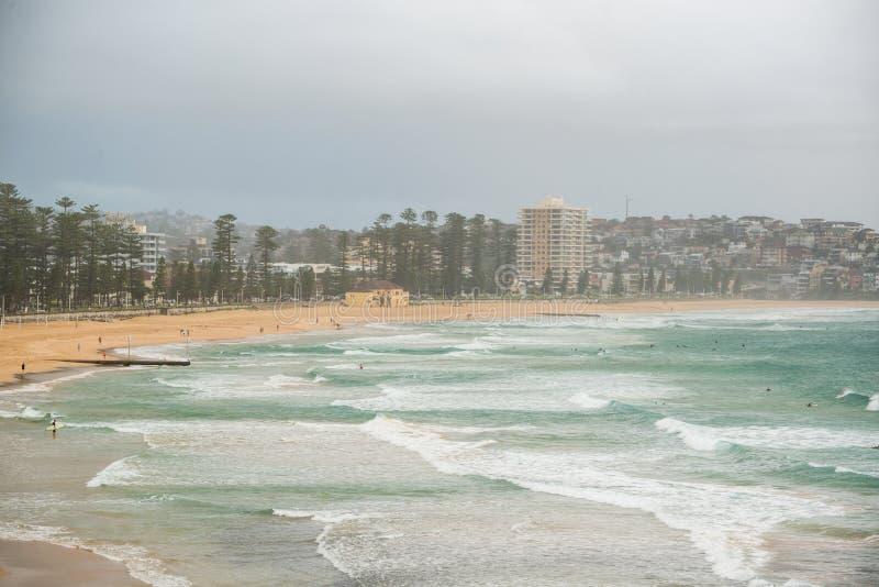 Waleczna plaża obrazy royalty free