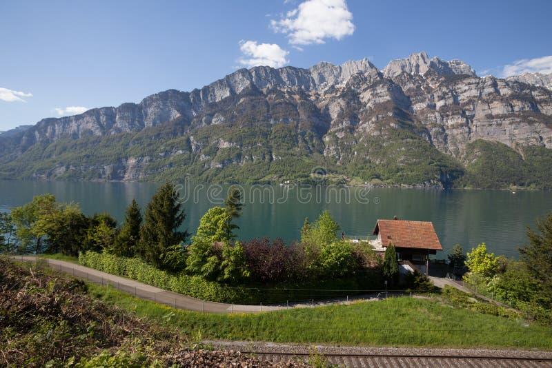 Download Walensee湖瑞士 库存图片. 图片 包括有 瑞士, 小湖, 蓝色, 海湾, 修改, 结构树, 横幅提供资金的 - 72365449