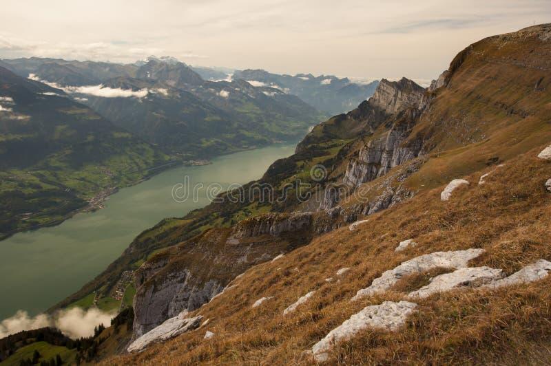 Download Walensee arkivfoto. Bild av fotvandra, mood, maxima, trekking - 27285766