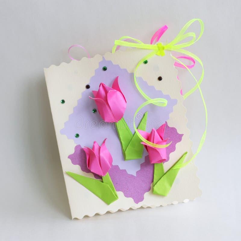 Walentynek lub matek dnia karta - Akcyjna fotografia zdjęcie royalty free