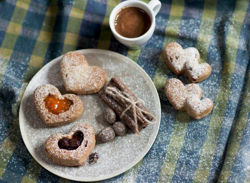 Walentynek muffins zdjęcie royalty free
