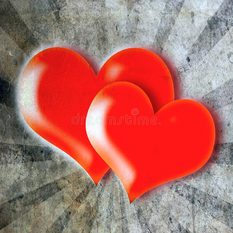 Walentynek serca royalty ilustracja