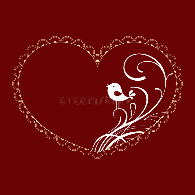 Walentynka royalty ilustracja