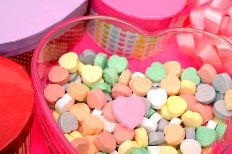 Walentynka cukierek zdjęcia stock