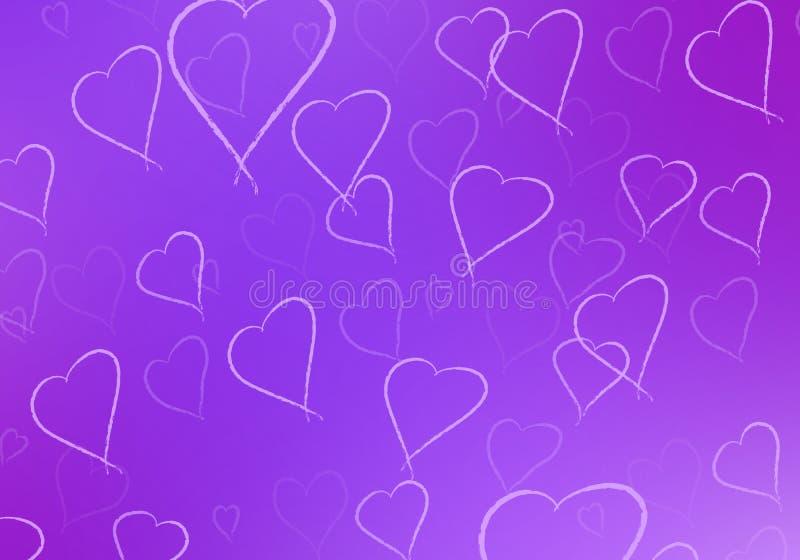 Walentynka dnia abstrakta tło ilustracji