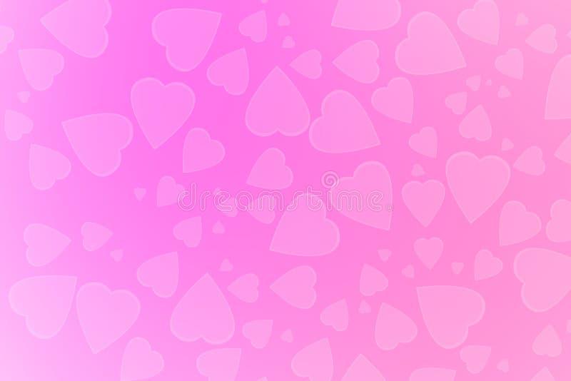 Walentynka dnia abstrakta tło ilustracja wektor