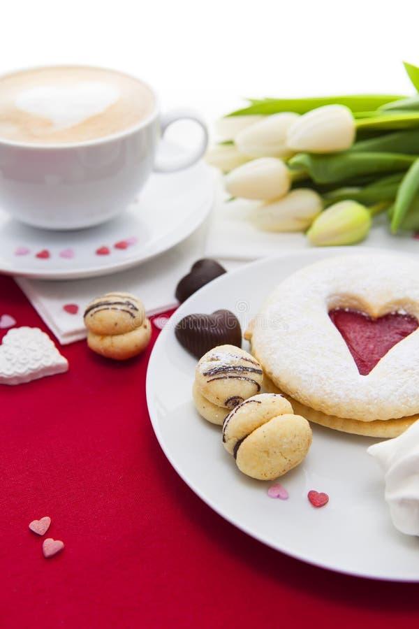 Walentynka dnia cukierków ustawianie zdjęcie royalty free