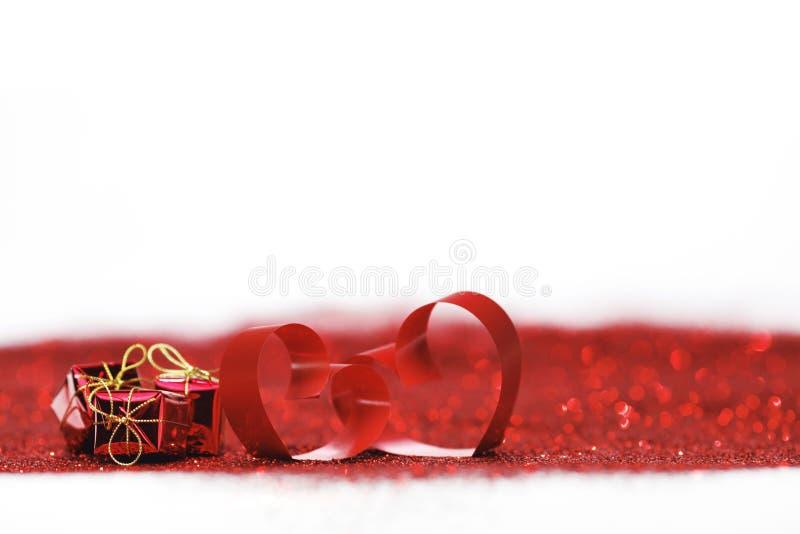 Walentynka dnia dekoracyjni serca fotografia stock
