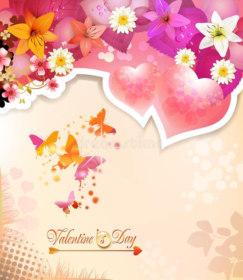 Download Walentynka dnia karta ilustracja wektor. Ilustracja złożonej z miłość - 28956104