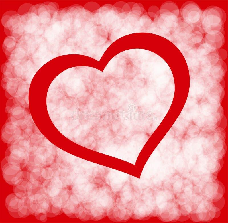 Download Walentynka dnia karta ilustracja wektor. Ilustracja złożonej z ilustracje - 28958001