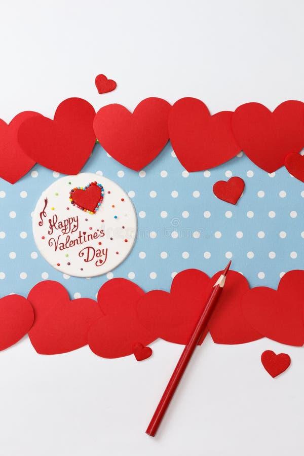 Walentynka dnia miłości wiadomość obrazy royalty free