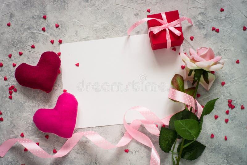 Walentynka dnia tło fotografia stock