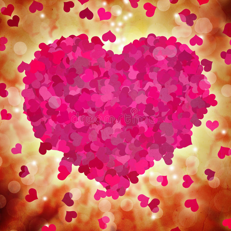 Download Walentynka dnia tło ilustracji. Ilustracja złożonej z abstrakt - 28961476
