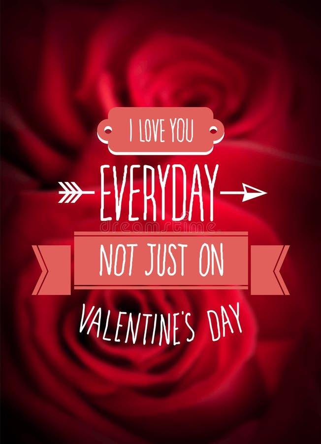 Walentynka dnia wektor ilustracja wektor