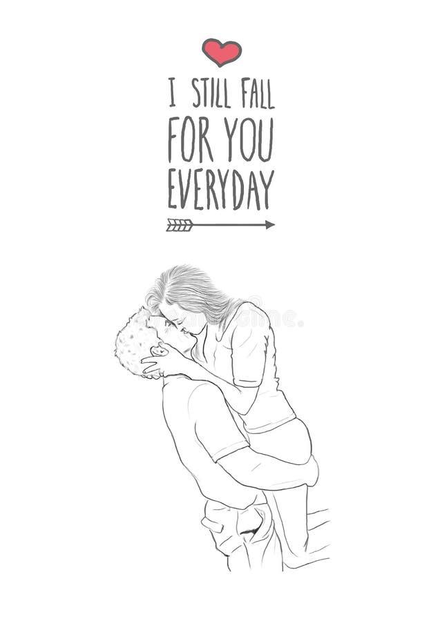 Walentynka dnia wektor royalty ilustracja