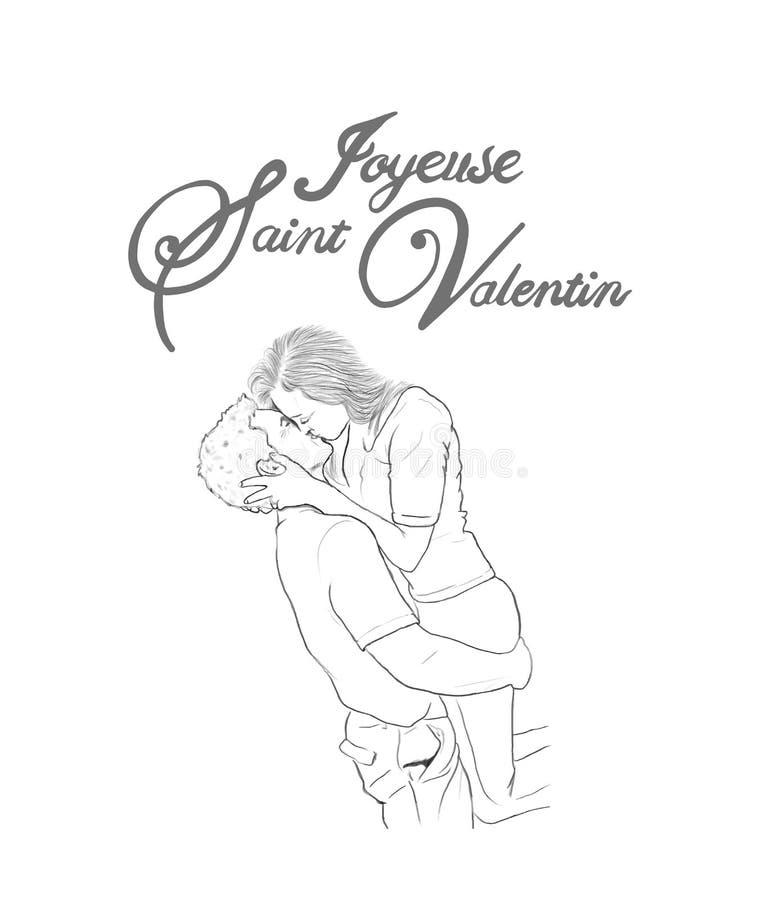 Walentynka dnia wektor ilustracji