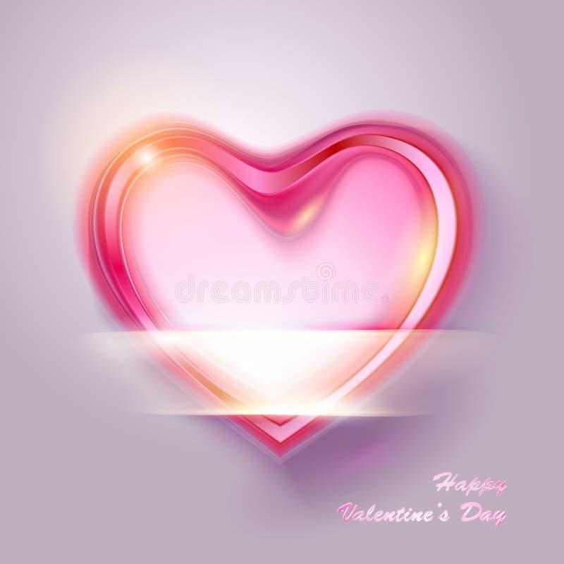Walentynka dnia wektoru tło ilustracji