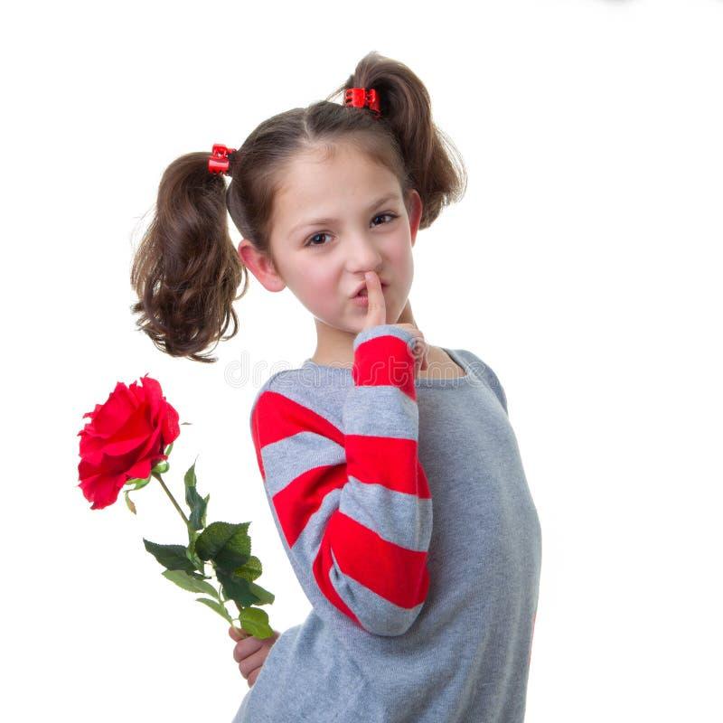 Walentynka lub matka dnia prezent zdjęcia royalty free