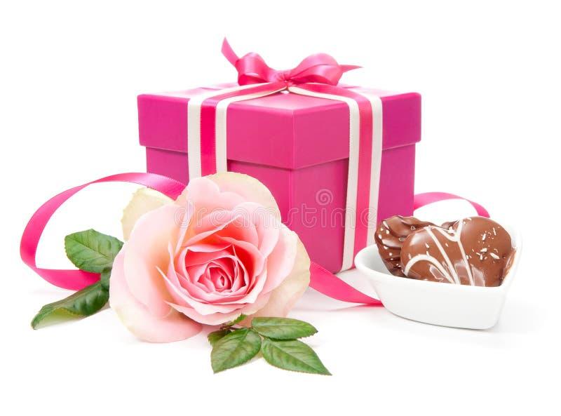 Walentynka prezent zdjęcia royalty free