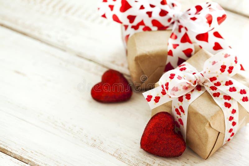 Walentynka prezent zdjęcie stock