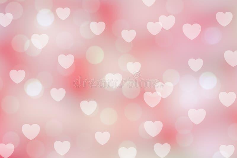 Walentynki bokeh tło