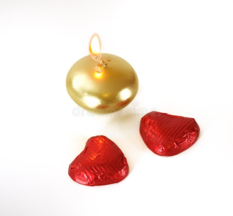 Walentynki Czekolada obrazy stock