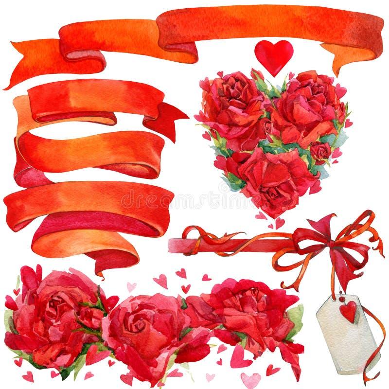 Download Walentynki Elementy Dla Dekoraci I Tło Ilustracji - Ilustracja złożonej z elementy, dzień: 53782101