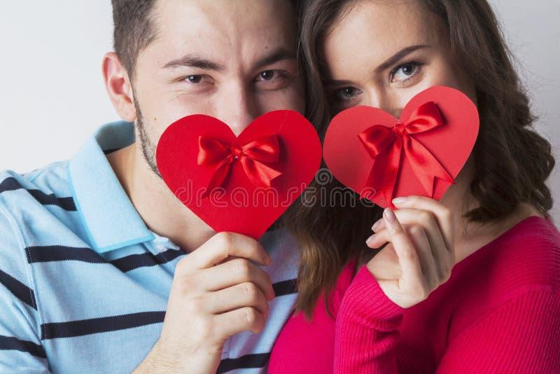 Walentynki para zdjęcia royalty free
