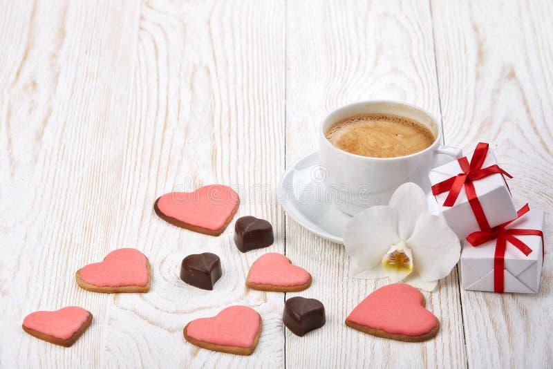 Walentynki ` s dnia skład obrazy royalty free