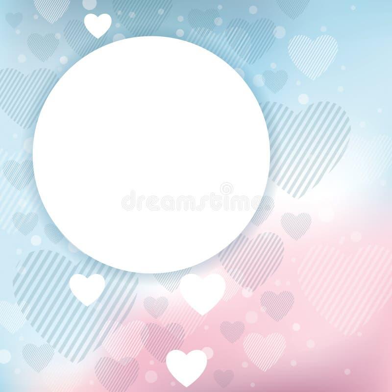 Download Walentynki tło ilustracja wektor. Obraz złożonej z foremność - 28579817