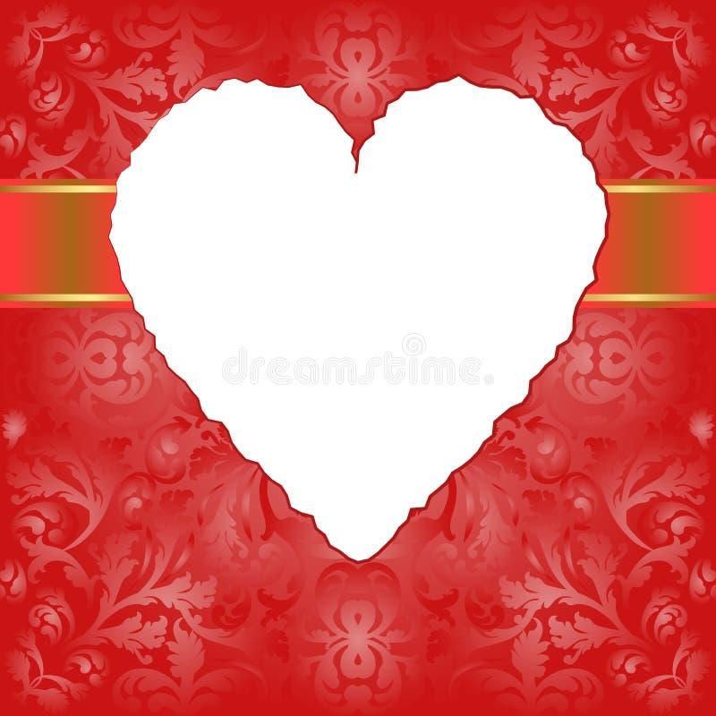 Download Walentynki tło ilustracja wektor. Obraz złożonej z heart - 28798124