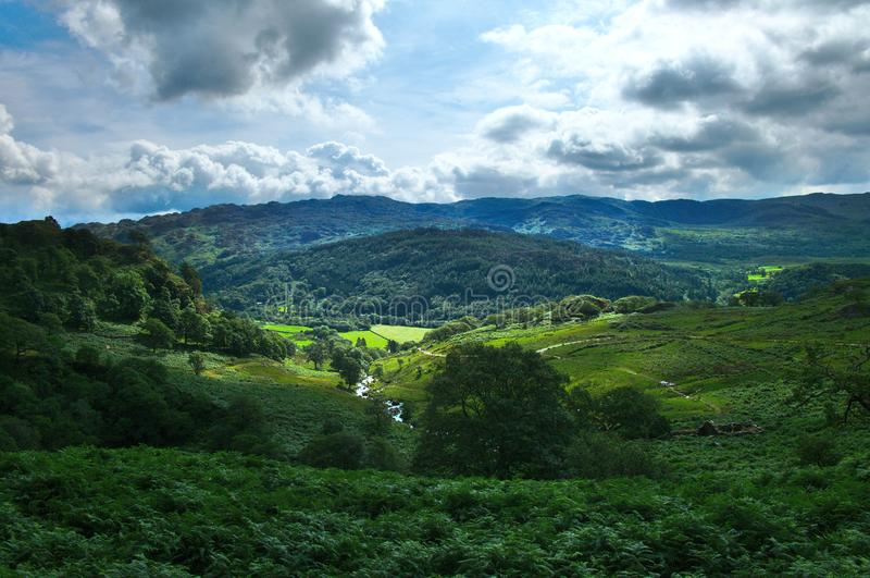 Wales drömdal arkivfoton