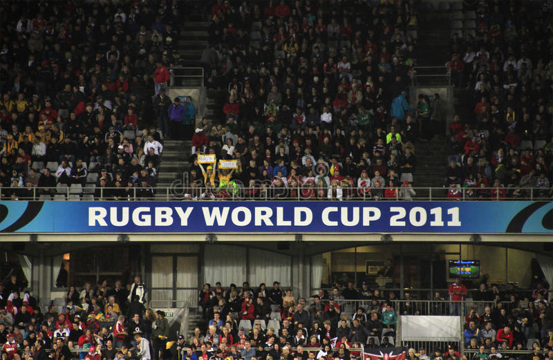 wales för Australien kopprugby kontra värld 2011 royaltyfri foto