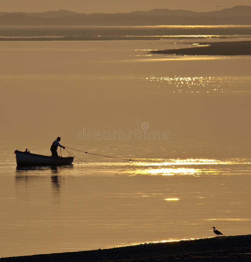 Wales - Fishing - Caernarfon Editorial Stock Image