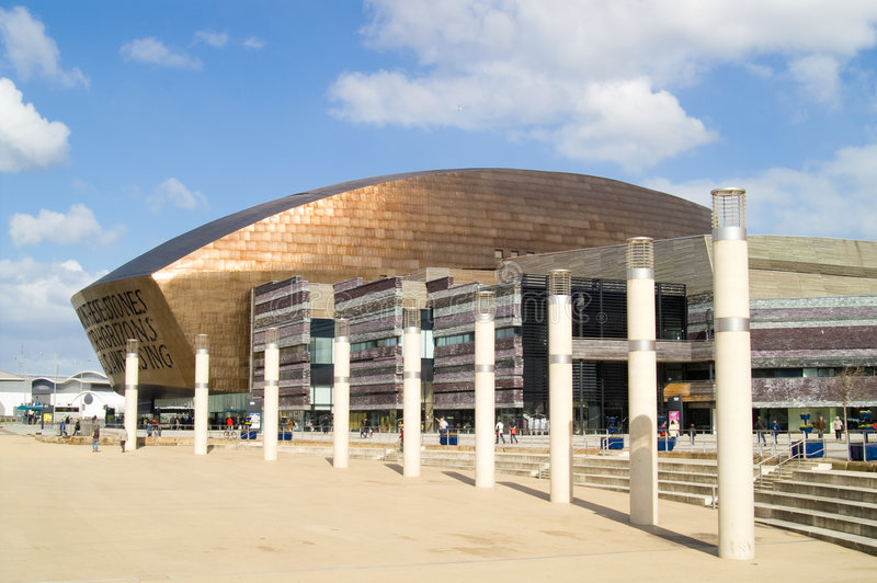 Wales Millennium Centre royalty free stock images