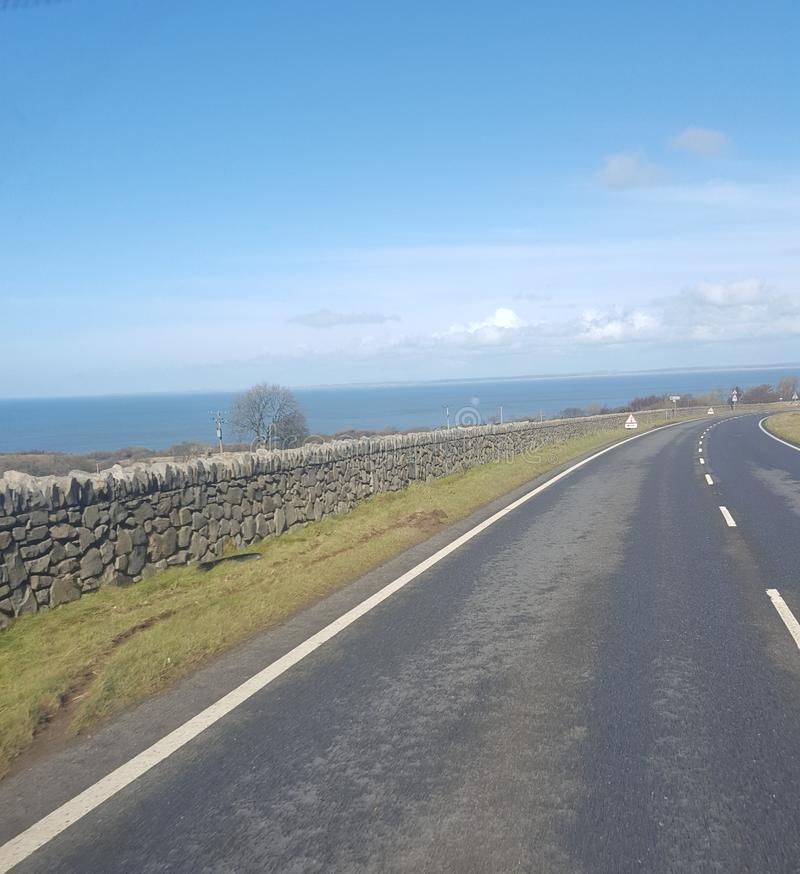 Wales spring sunshine royalty free stock images