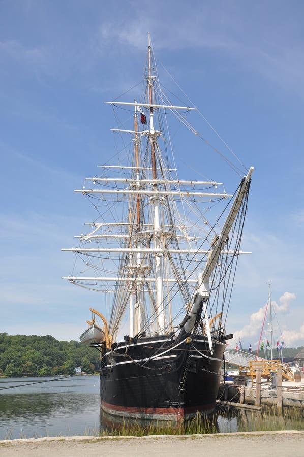 Walfangschiffsboot lizenzfreie stockfotografie