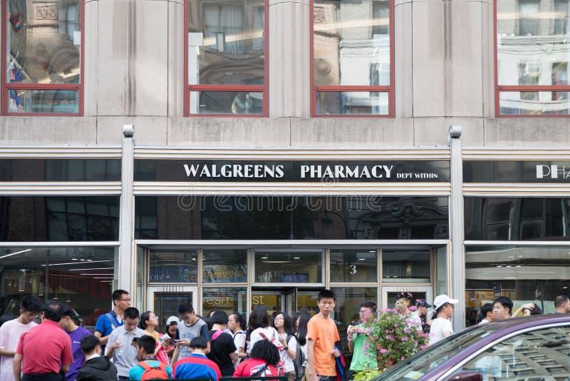 Walgreens-Apotheke in New York City stockfoto
